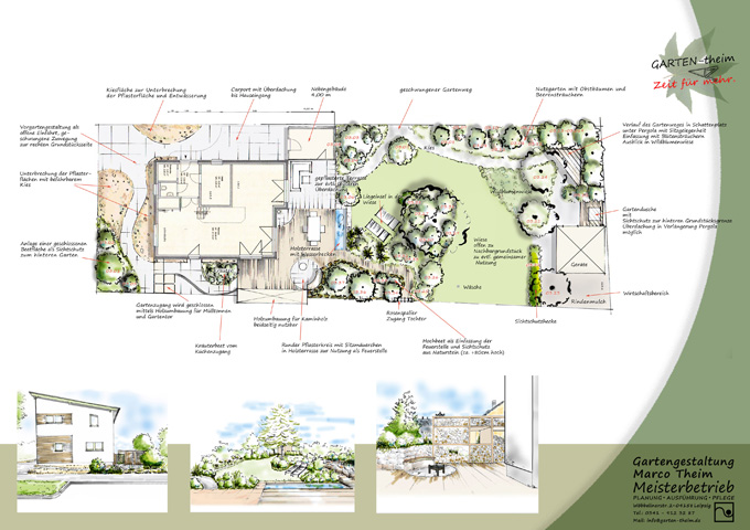 gartenplanung & gartengestaltung: der weg zum traumgarten, Garten ideen