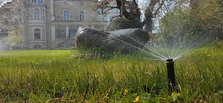 Gartenbewässerung: Vollautomatische Beregnungsanlagen vom Fachmann