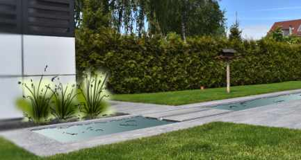 """""""Gartengenuss heiter bis sonnig"""" – puristische und formale Gartengestaltung, die die aktuellen modernen Züge aufgreift"""